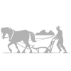 Bonde symbol sølv