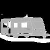 Campingvogn Sølv