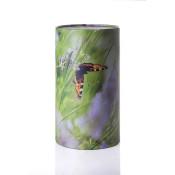 Stockholm urne med sommerfugl-motiv