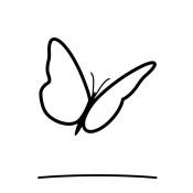 Sommerfugl symbol