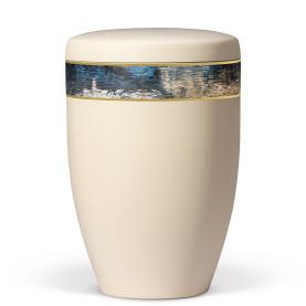 Atlant biourne, beige, dekobånd med art design 27011
