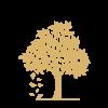 Livstræ Symbol - Guld