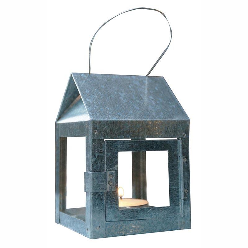 Lanterne A2 Living 8x8x12 cm med wire