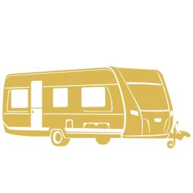 Campingvogn Symbol