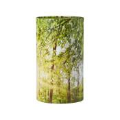 Stockholm urne med forår skov-motiv