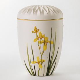 FRYD hvit med gul lilje nr. 106