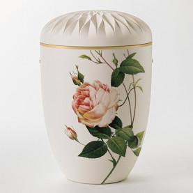 Fryd hvit med rose nr. 106